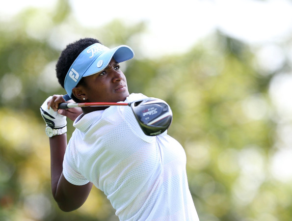 JOHANNESBURG, SOUTH AFRICA - JANUARY 19: Nobuhle Dlamini during day 2 of the 2016 Joburg Ladies Open at Royal Johannesburg and Kensington Golf Course on January 19, 2016 in Johannesburg, South Africa. EDITOR'S NOTE: For free editorial use. Not available for sale. No commercial usage. (Photo by Carl Fourie/Sunshine Tour/Gallo Images)
