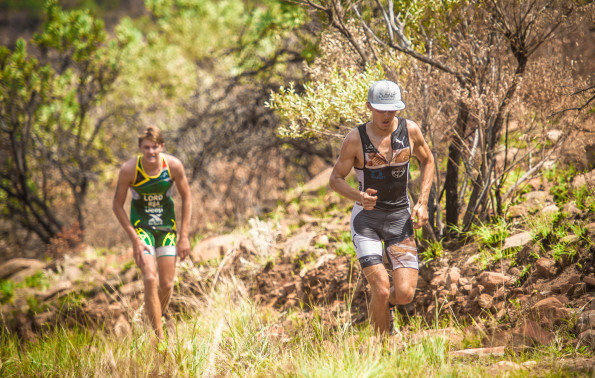 The action-packed Fedhealth XTERRA will make its Nelson Mandela Bay debut this coming weekend, 29 – 31 January 2016.  Seen here:  XTERRA warrior/Managing Director of ButtaNutt, Antoine van Heerden in action at the Fedhealth XTERRA Buffelspoort that took place this past weekend.  Van Heerden will be on the start line of the Fedhealth XTERRA Nelson Mandela Bay Full.  Photo Credit:  Tobias Ginsberg