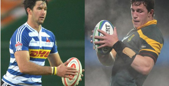 EW Viljoen, left, and JD Schickerling, right, are two of the up-and-coming players in the Cape who will look to play themselves into Super Rugby contention during pre-season. Photo: BackpagePix