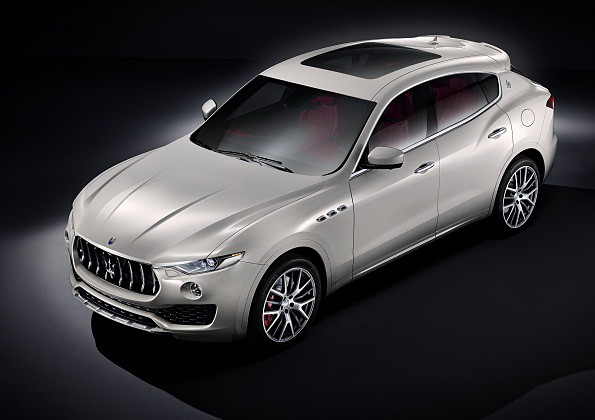 Maserati: SUV unveiled in Geneva. Picture: Quickpic