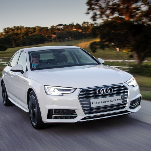 The new Audi A4: aerodynamics have been drastically improved. Picture: Motorpress