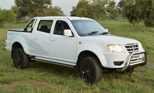 Tata's new Evolve: a double cab bakkie