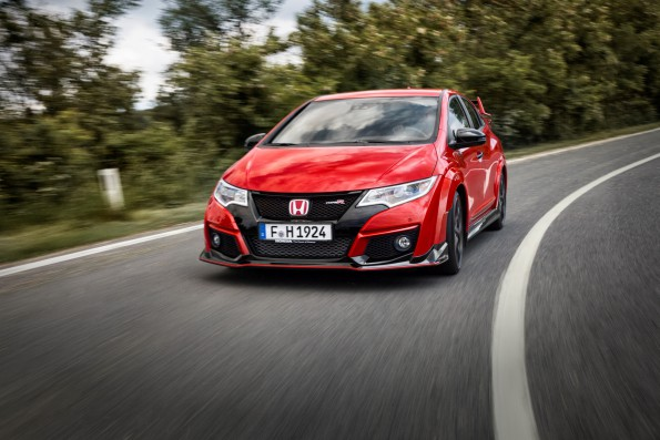 Honda Civic Type R: launched in SA this week. Picture: Quickpic