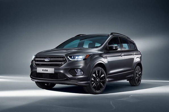 Ford's new Kuga: updated and sportier. Picture: Quickpic