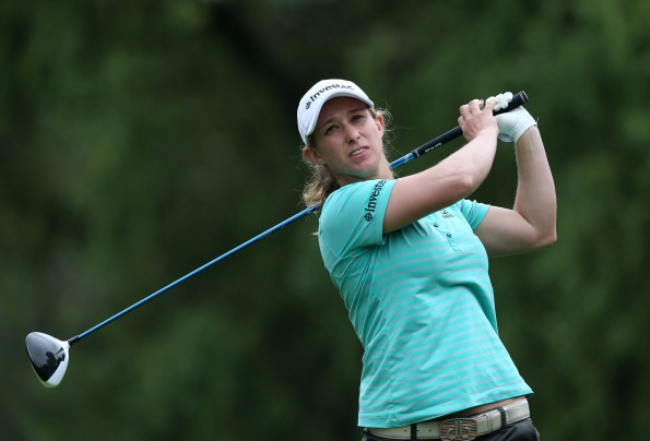 Cape Town Ladies Open defending champion, Stacy Bregman; credit Sunshine Ladies Tour