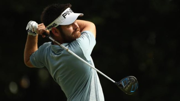 Louis Oosthuizen in action at Royal Selangor Golf Club in Malaysia. Picture: Ian Walton/Getty Images