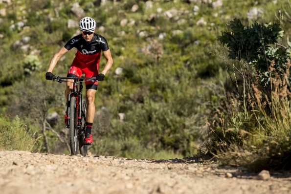 Ariane Kleinhans from Team Spur-Specialized training for the Bestmed Tour of Good Hope, which will be based in Paarl from February 29 to March 4. Photo: Craig Kolesky