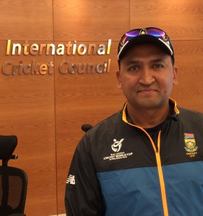 NMMU sports administrator Riaan Osman was appointed team manager of the SA U19 cricket team that competed in the ICC U19 World Cup in Bangladesh last week. Photo: Supplied