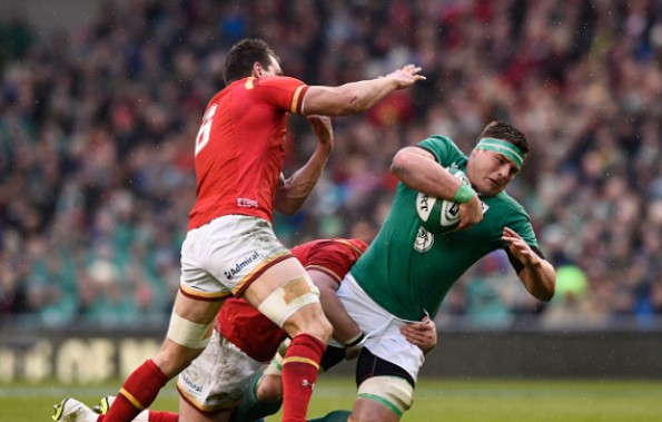 CJ Stander was named Man of the Match. Photo: Stu Forster/Getty Images