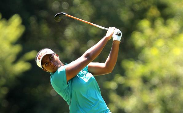Swaziland's Nobuhle Dlamini; credit Sunshine Ladies Tour