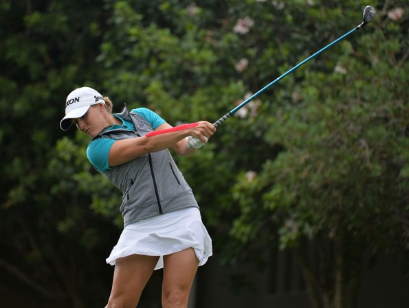 GEORGE, SOUTH AFRICA - FEBRUARY 19:  Melissa Eaton during day 1 of the Ladies Tour Dimension Data Challenge at George Golf Course on February 19, 2016 in George, South Africa. EDITOR'S NOTE: For free editorial use. Not available for sale. No commercial usage. (Photo by Thinus Marnitz/Sunshine Tour/Gallo Images)