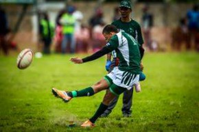 Leegan Moos [Evergreens flyhalf] has graduated from the Club League to the SWD Eagles