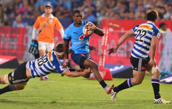 Former Outeniqua High School and SWD Schools centre, Warrick Gelant, was awarded the SA u/20 Player of the Year