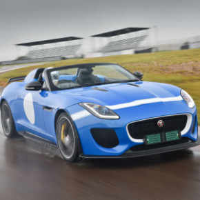 The F-TYPE Project 7: exclusive limited edition model. Picture: Jaguar/ Motorpress