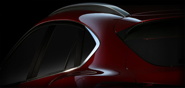A view of the Mazda CX4: latest addition to new generation featuring SkyActiv technology. Picture: Quickpic