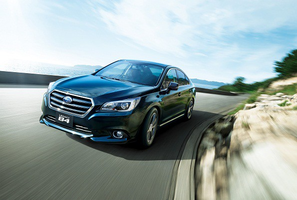 The Subaru Legacy: packed with safety features. Picture: Quickpic