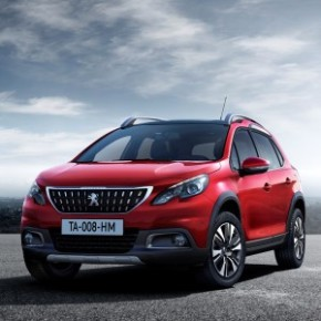 The Peugeot 2008 SUV: Ultimate Red – a stand-out colour. Picture: Motorpress