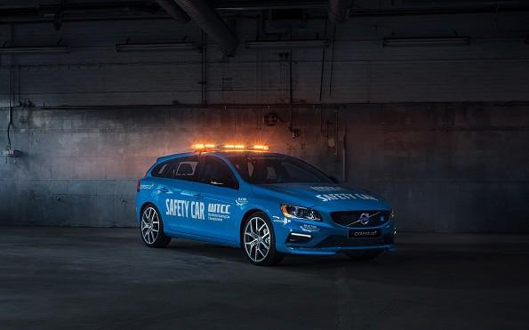 The new Volvo V60 Polestar: leading the WTCC field. Picture: Quicpic