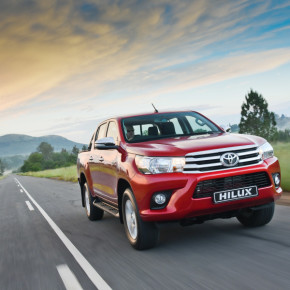 The all-new Toyota Hilux: second on the best-sellers list. Picture: Motorpress
