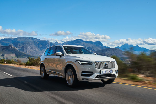 The new Volvo XC90: top honours at WesBank/ SAGMJ Car of the Year. Picture: Quickpic