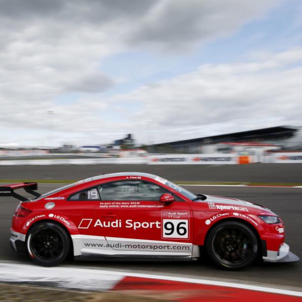 Sheldon van der Linde: wins selection for the Audi Sport TT Cup. Picture: Motorpress
