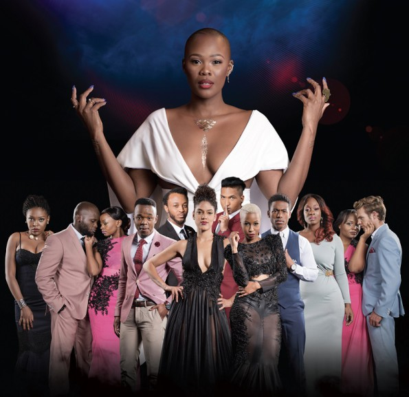 Top Actor Africa Contestants and Host Zikhona Sodlaka