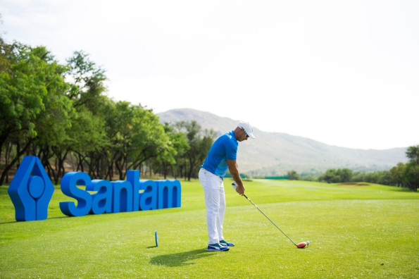 Former Proteas cricket star Herschelle Gibbs is one of the thousands of South African golfers who supports the Sanlam Cancer Challenge. Credit: Sportzpics