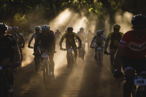 Riders take in the scenery during last year's Winelands Encounter. Photo: Ewald Sadie