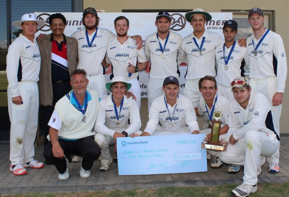 The team of NMMU George who were the runners-up of the SWD Premier league after they lost to Union Stars in the Premier league final that took place at the REC Ground in Oudtshoorn on Saturday