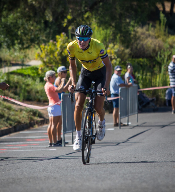 Stefan de Bod of Dimension Data won the overall title in the Bestmed Tour of Good Hope in Paarl today. Photo: Warren Elsom/Capcha