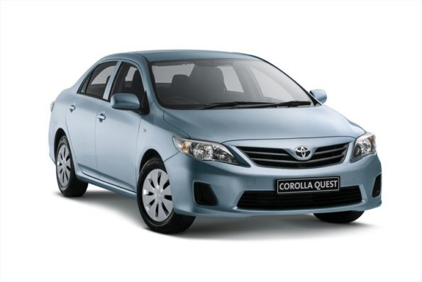 The Toyota Corolla Quest: available in Standard and Plus. Picture: Quickpic