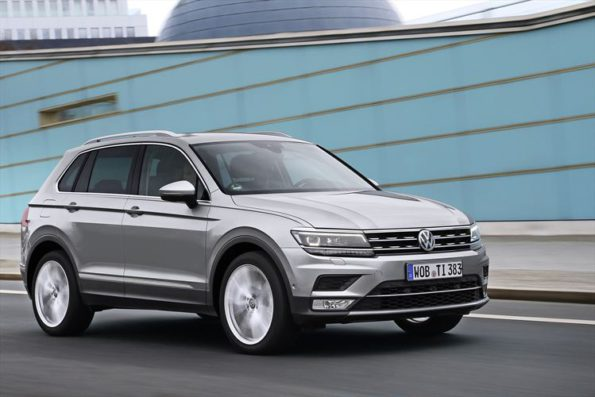 The new Volkswagen Tiguan: heading for South Africa later this year. Picture: Quickpic
