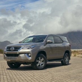 The Toyota Fortuner: for  bush and urban lifestyle enthusiasts: Picture: Motorpress