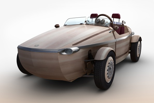 The Toyota Setsuna: you can drive it but it's not road legal yet. Picture: Quickpic