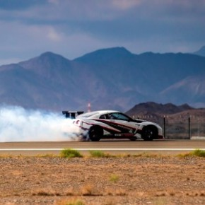 The Nissan GT-R: Japanese drift champion, Masato Kawabata, reached a speed of 304.96km/h. Picture: Motorpress