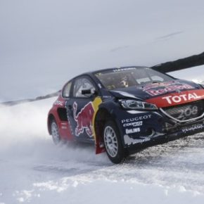 Ready for action in World Rallycross Championship: the Peugeot 208 WRX. Picture: Motorpress