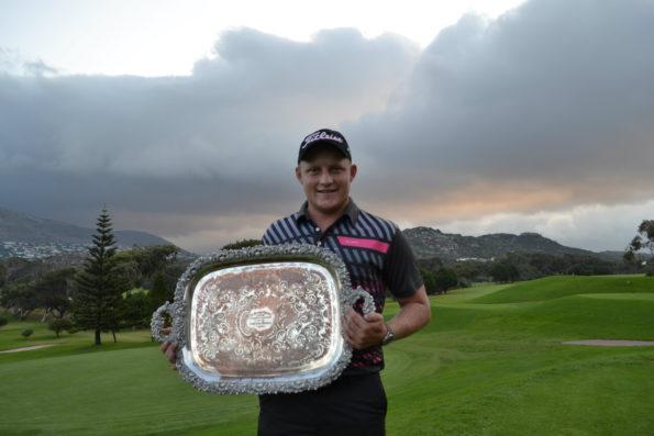 2016 Western Province Stroke Play champion Albert Venter; credit Barry Havenga/Golf Digest