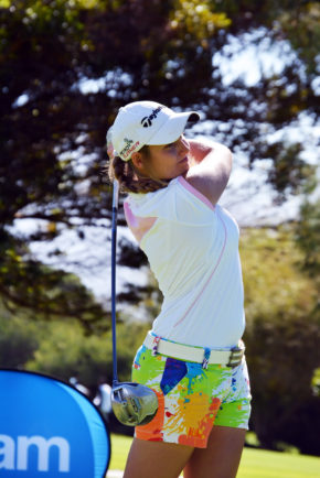 Johannesburg golfer Kaleigh Telfer is two strokes clear going into Tuesday's final round of the Sanlam SA Women's Amateur Stroke Play Championship at Westlake Golf Club. Credit: Michael Vlismas