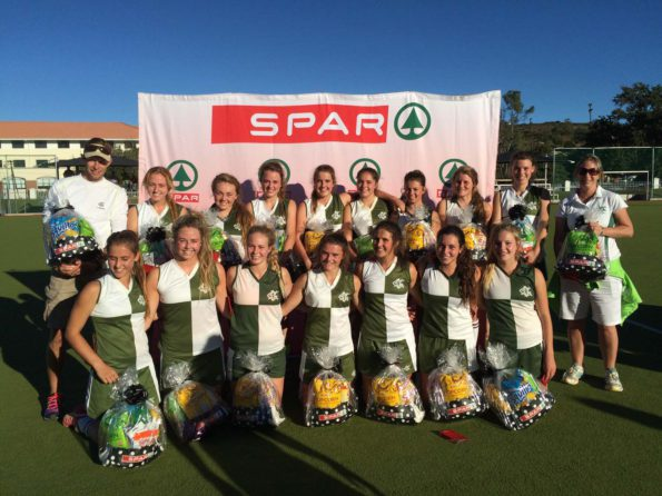 Homeside DSG won the SPAR EC Schoolgirls Hockey Challenge in Grahamstown yesterday. Photo: Full Stop Communications