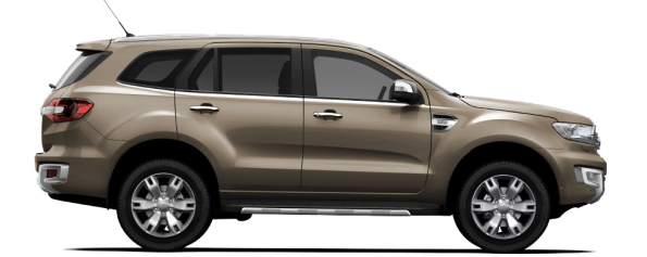 The Ford Everest 3.2 4x4 Limited AT: Smooth driving. Picture: Quickpic