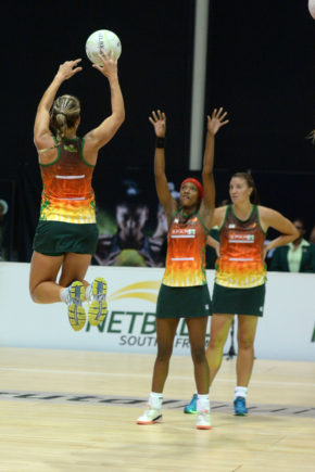 The North West Flames will need to stay on their toes to retain their position at the top of the Brutal Fruit Netball Premier League log as they face two tough games in Round 4 this weekend. Credit: BackpagePix