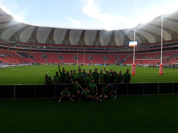 What a win for the SWD Eagles, here is a photo of our SWD Eagles side after the win last night in Port Elizabeth