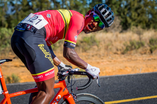 Cape Town Cycle Tour champion Clint Hendricks (Team RoadCover) has been reduced to the role of domestique in Sunday's Emperors Palace Classic cycle classic. Photo: Warren Elsom/Capcha