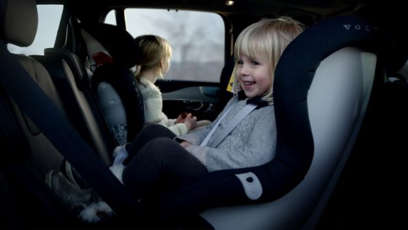 New generation  child seats: testing is unequalled, says Volvo. Picture: Quickpic