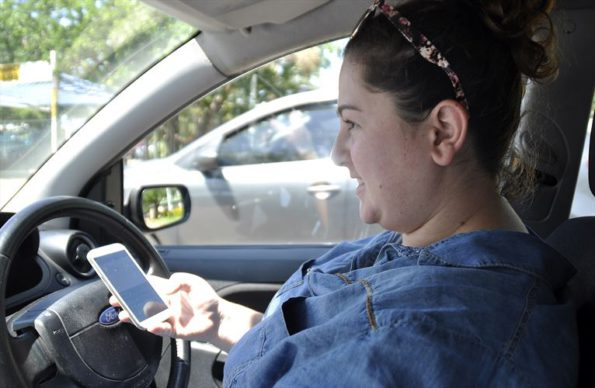 Make sure your cellphone is full charged before you go: but do not text or talk while you drive. Picture: Quickpic