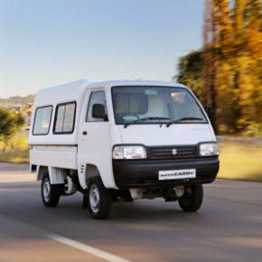 The Suzuki Super Carry: the popular small utility vehicle was first launched in Japan in 1961. Picture: Motorpress