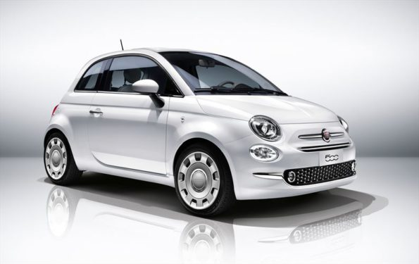 """The new Fiat 500: the """"great little car"""" was introduced in 1957. Picture: Quickpic"""