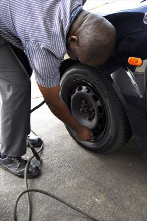Tyres: inflate them according to the manufacturer's specifications. Picture: Quickpic