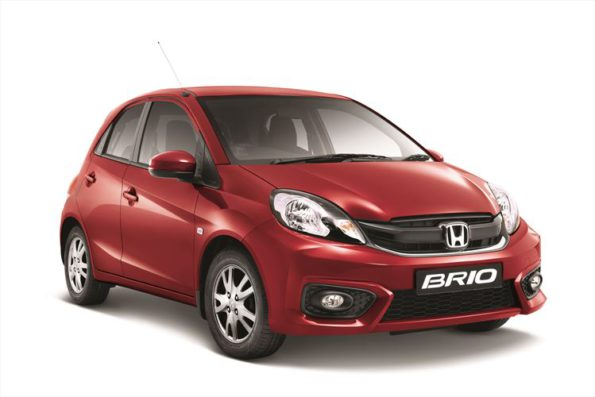 The Honda Brio: sedan and hatchback more appealing. Picture: Quickpic