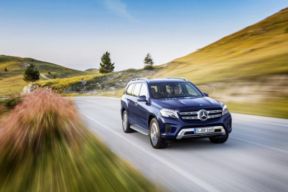 Mercedes Benz GLS:  first-class performance on and off the road. Picture: Quickpic